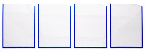 Карманы из оргстекла под формат А5, А4, А3 Объёмные